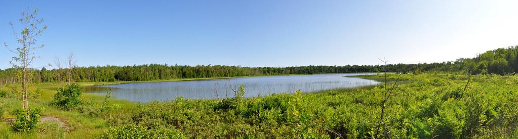 Horse Lake Panoramic