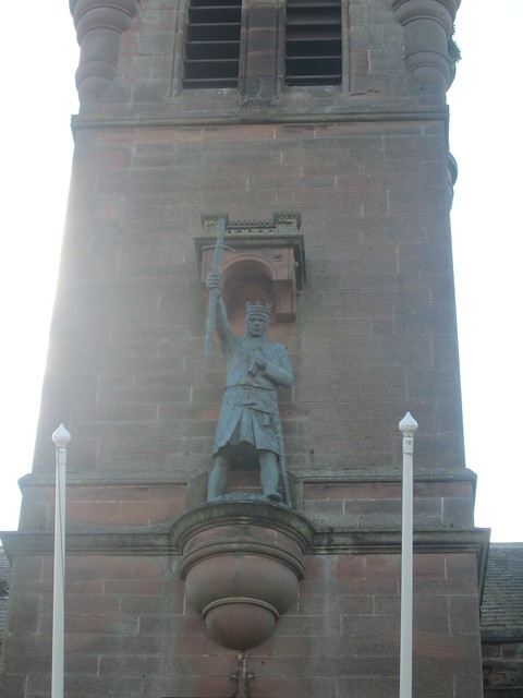 Statue of Bruce at Town Hall