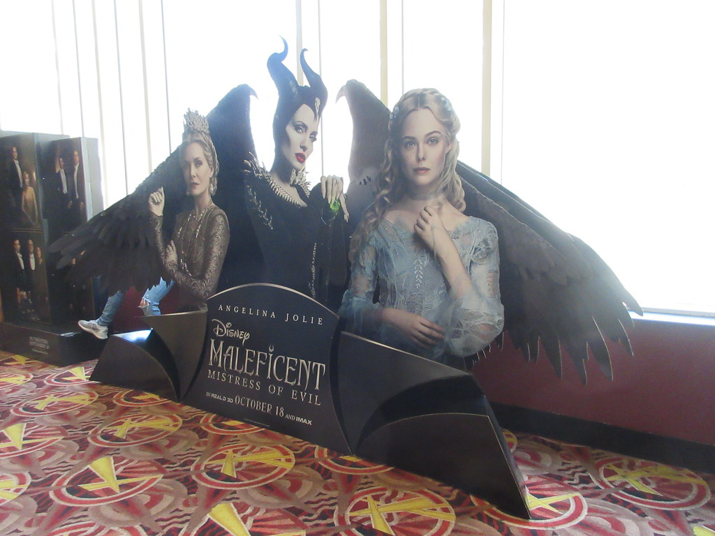 2019 Maleficent Mistress Of Evil Movie Poster Standee 6248