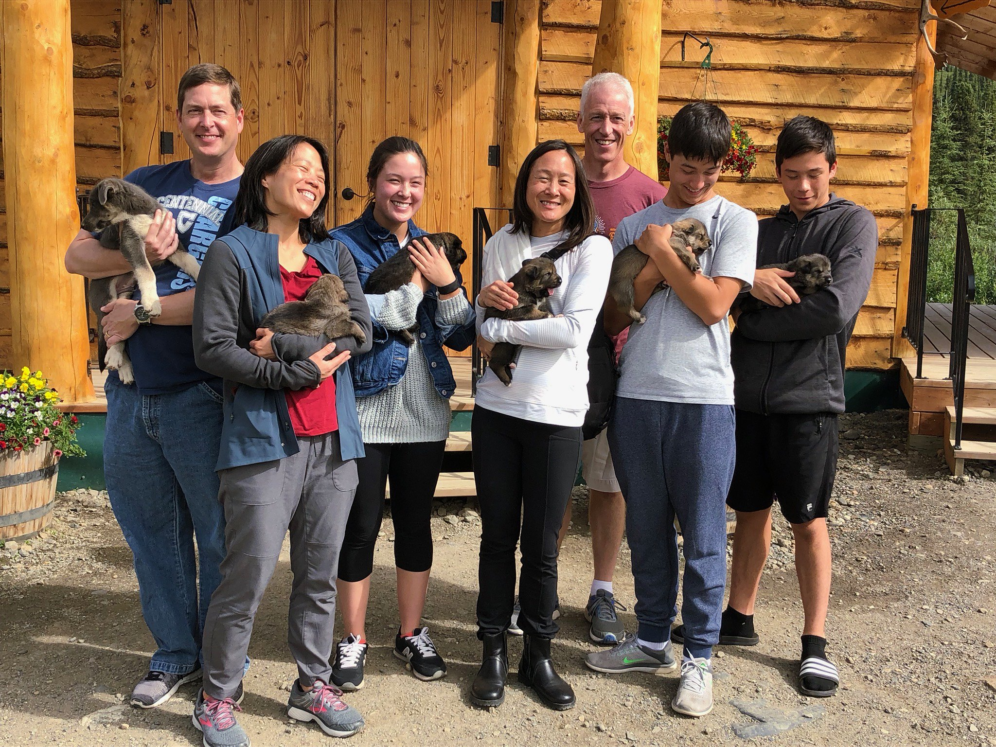 Alaskan Sled Puppies Dog Gone It Tour