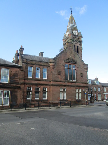 Annan Town Hall, Dumfries and Galloway