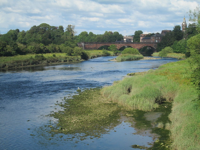 River Annan, Dumfries and Galloway, ScotlandBridge