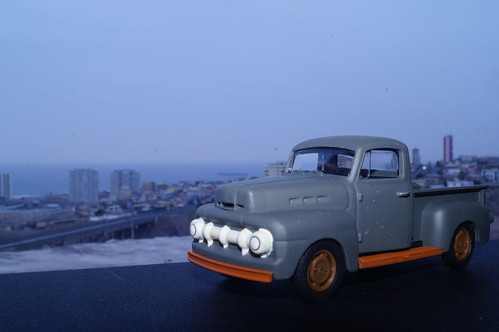 1951 Ford F-1 1/43 diecast made by Greenlight