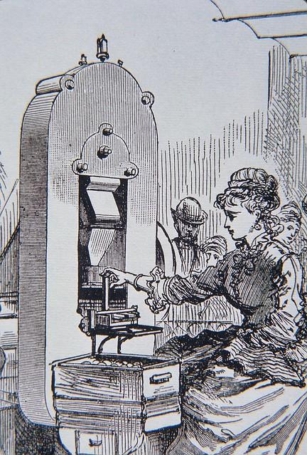 Woman worker at U.S. Mint
