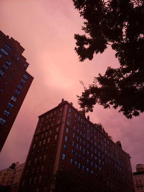 Red Skies at night.....