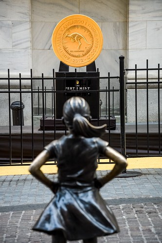 Gold Coin on Wall Street1