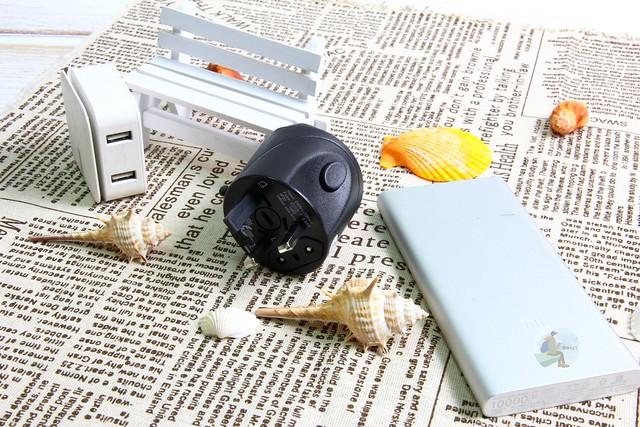 旅遊必備商品,[3C開箱]讓你出門好心情旅行者移動電源Sim卡收納線ShutterGrip