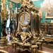 Rococo gilded clock