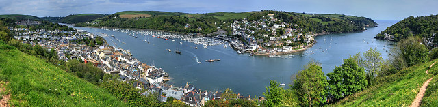 Dartmouth Harbor Panorama