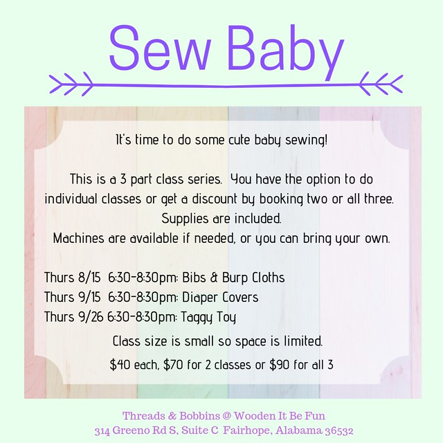 Sew Baby - with address