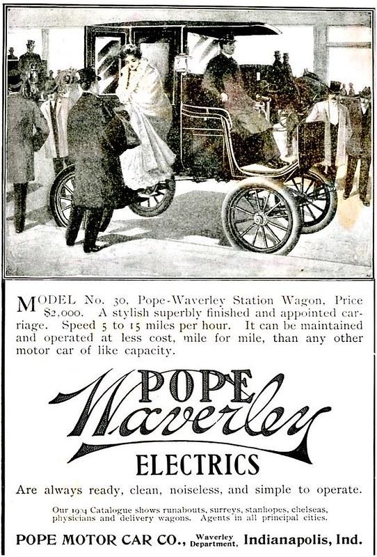 1902 Pope-Waverley No. 30 Station Wagon