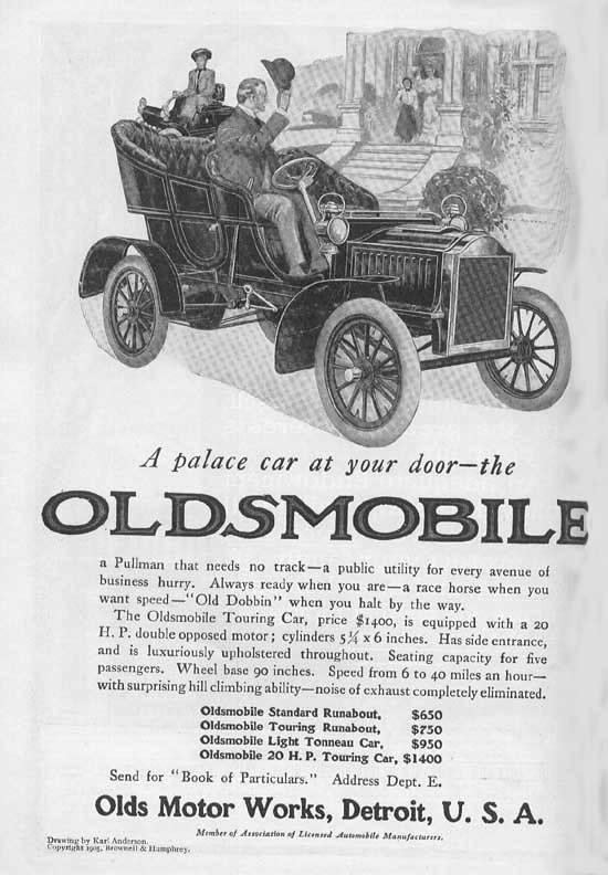 1905 Oldsmobile