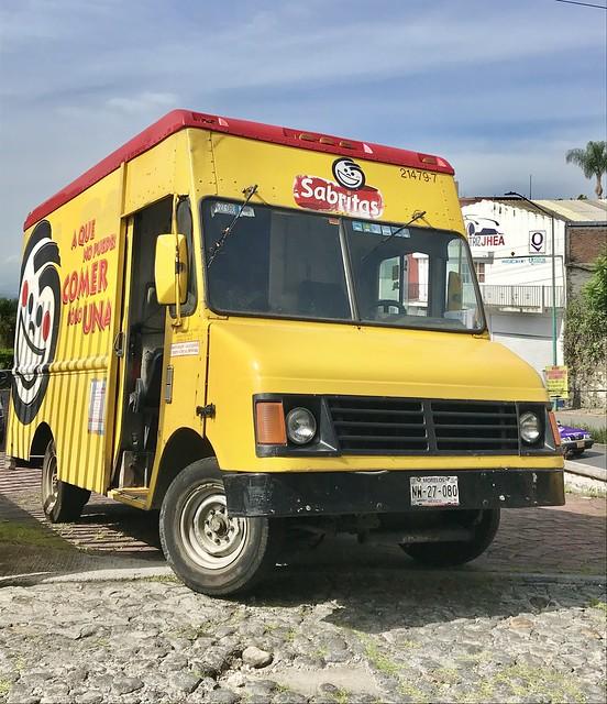Sabritas Delivery Truck