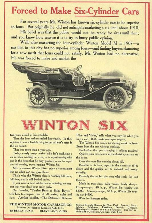 1909 Winton Six