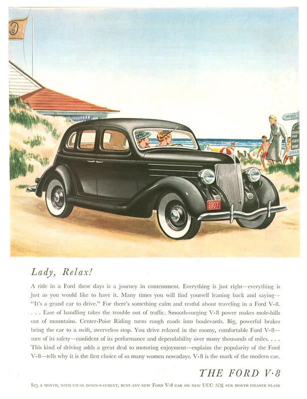 1936 Ford V-8