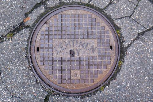 Savonlinna manhole cover