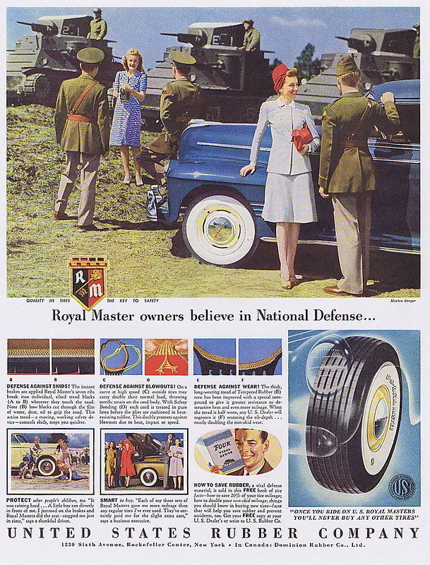 United States Rubber Company Royal 1941