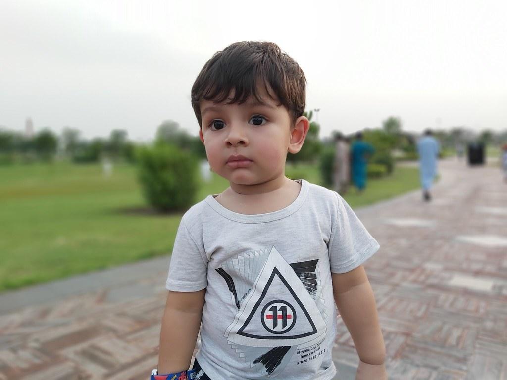 Kid Portrait mobile photography