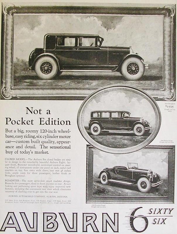 1925 Auburn 6 Sixty Six