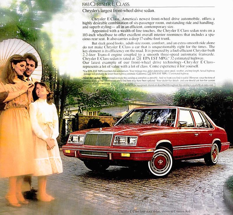 1983 Chrysler E Class