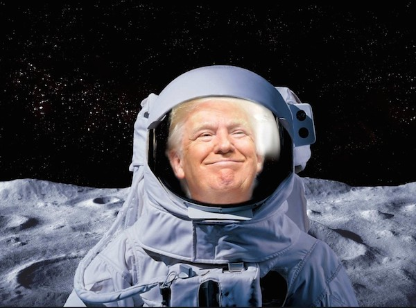 Trump Lies Like The Moon...Landing #BOBS52