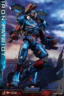 令人大呼過癮的重裝火力!! Hot Toys – MMS547D34 -《復仇者聯盟:終局之戰》鋼鐵愛國者 Iron Patriot 1/6 比例人偶作品