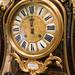 Antique rococo clock face