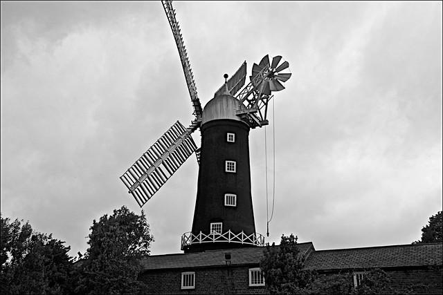 Skidby Mill  Monochrome