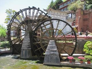 Lijiang Waterwheels