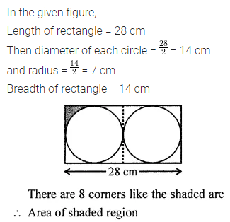 ML Aggarwal Maths for Class 7 Solutions Pdf Chapter 16 Perimeter and Area Objective Type Questions HOTS 2.1