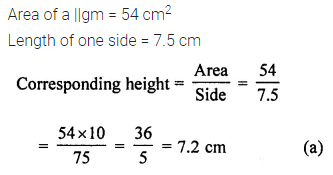 APC Maths Class 7 ML Aggarwal Solutions Chapter 16 Perimeter and Area Objective Type Questions Q4