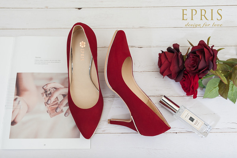 租鞋 婚宴鞋 紅鞋 紅色 高跟鞋出租