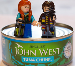 Masters of the Tuna-verse (Macro Monday - gone fishing)