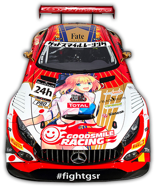 《FATE》系列誕生 15 週年紀念,TYPE-MOON RACING & GOODSMILE RACING 共同參戰 SPA24H !