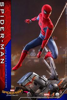 以更具魄力的尺寸再登場! Hot Toys – QS014 / QS014B《蜘蛛人:返校日》蜘蛛人 Spider-Man 1/4 比例人偶作品