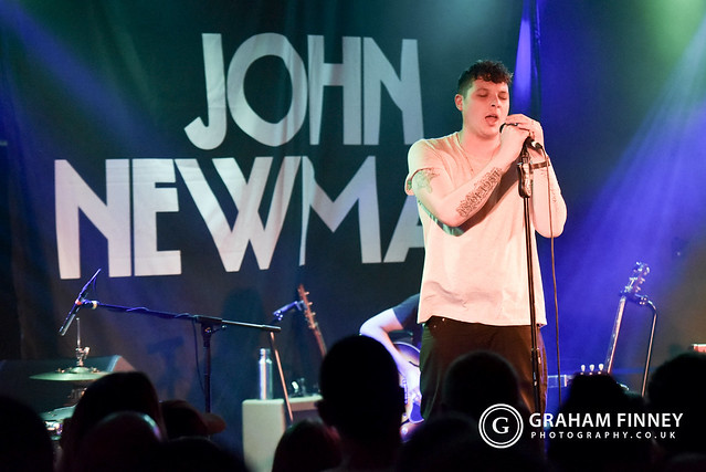 John Newman (w/Etham) @ Brudenell Social Club (Leeds, UK) on July 9, 2019