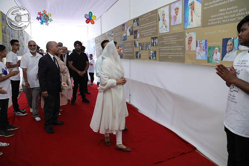 Satguru Mata Ji visits in the Nirankari Exhibition