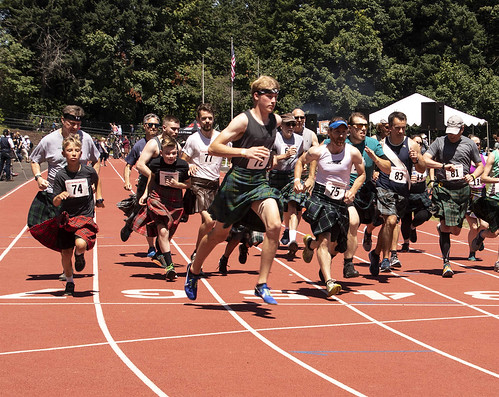 2019-07-20 Running the Kilted Mile!