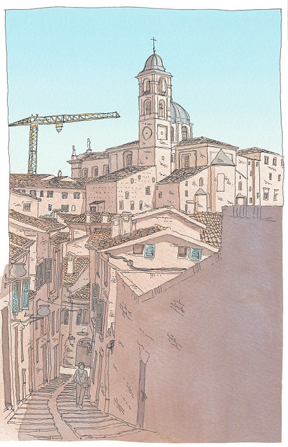Italy, Marches, Urbino