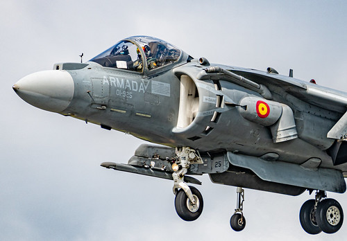 EAV-8B Harrier, Spanish Navy 9 Squadron