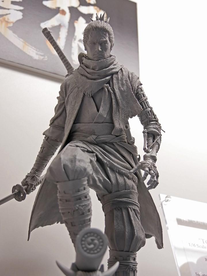 獨臂之狼,隱忍戰國。Gecco《隻狼:暗影雙死》隻狼 SEKIRO 1/6比例雕像原型公開!