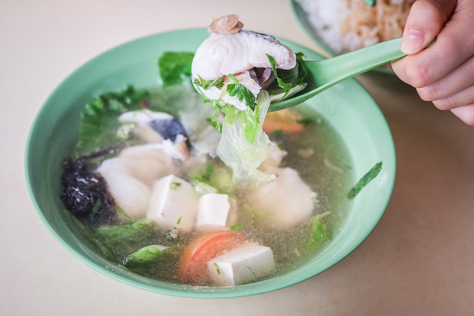 Han Kee Fish Soup on Spoon 1