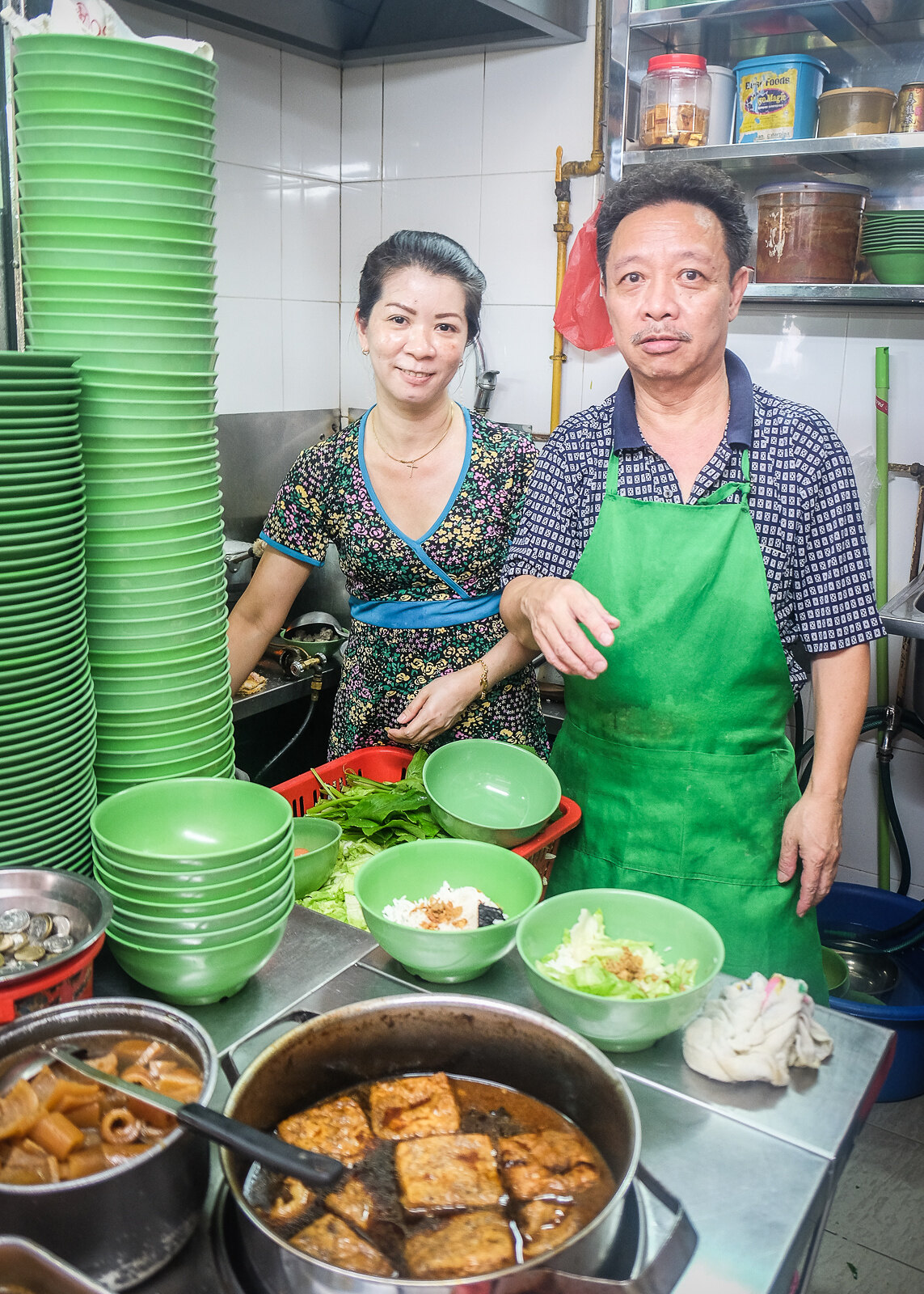 Han Kee Fish Soup Owners