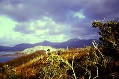 Snowdonia from near Porthmadog.