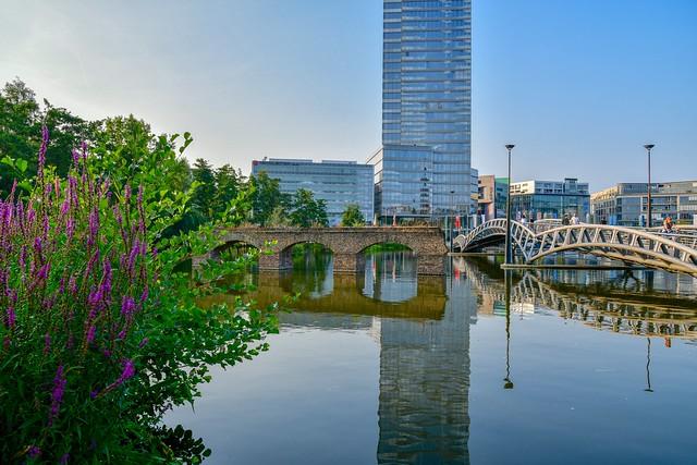 Reflection, Cologne Media-Park...