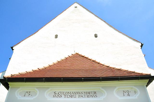 Juli 2019 ... St.-Coloman-Kirche in Schwangau ... Fotos: Brigitte Stolle