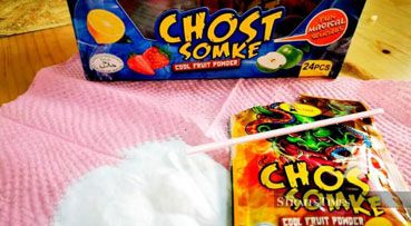 No dangerous substances in 'Ghost Smoke' candy