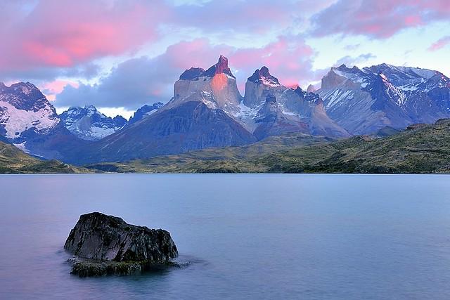 Chile, Pehoè Lake