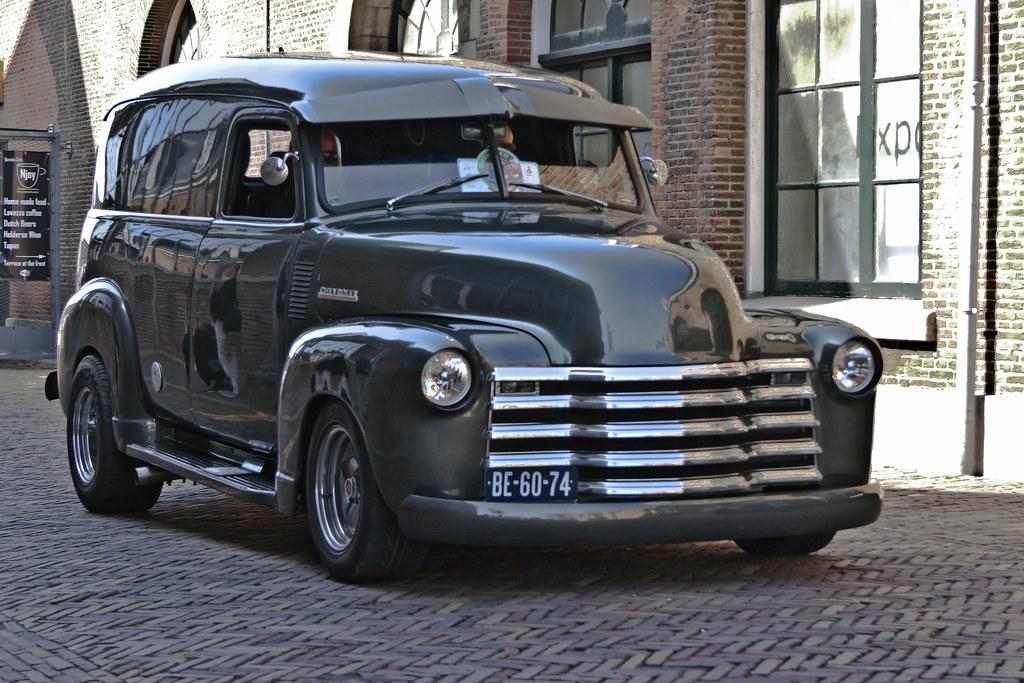 Chevrolet Thriftmaster 3100 Panel Truck 1948 (7937)
