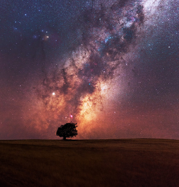 Milky Way at Boddington in Western Australia